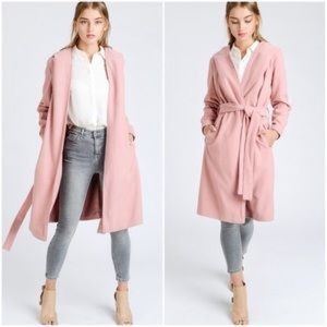 Jackets & Blazers - Hooded French Trench Coat
